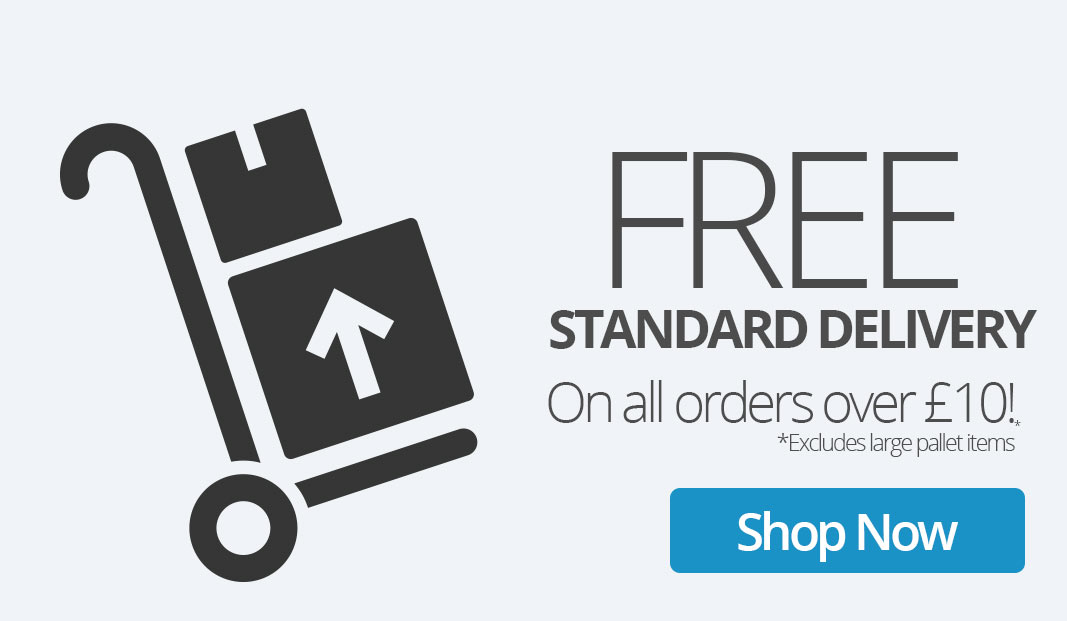 Free Delivery on all orders over £10