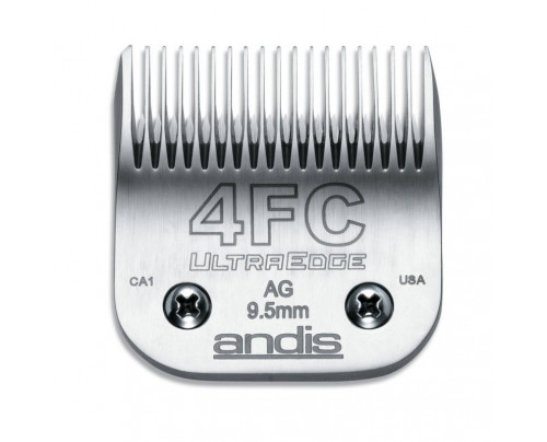 Andis UltraEdge Detachable Blade, Size 4FC - Leaves 9.5mm Fits AGC/AGR+ & Oster