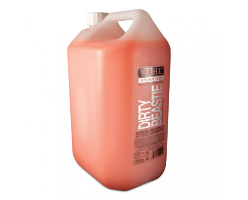 Wahl Dirty Beastie Dog Shampoo - 5ltr 32:1 Super Concentrate