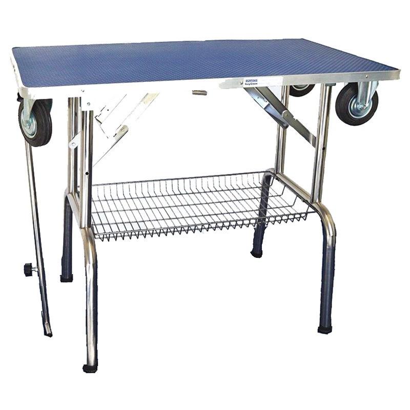 burtons mobile dog grooming table