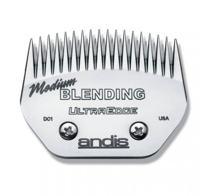 Andis UltraEdge Wide Blade - Medium Blending Fits AGC/AGR+ & Oster  Leaves 1.5mm or 1/16""