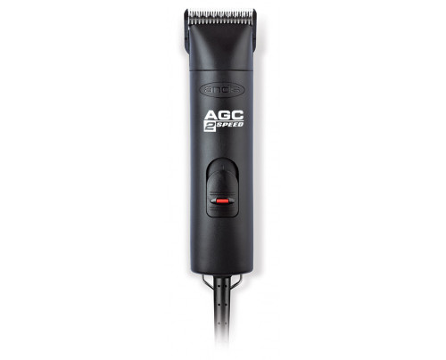 Andis AGC Brushless 2 Speed Clipper - Black