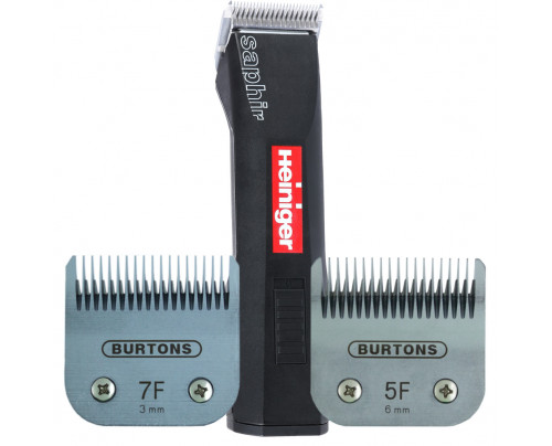 Heiniger Basic Clipper - With 2 free Burtons Blades