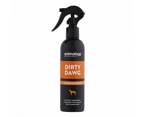 Animology Dirty Dawg No Rinse Dog Shampoo 250ml