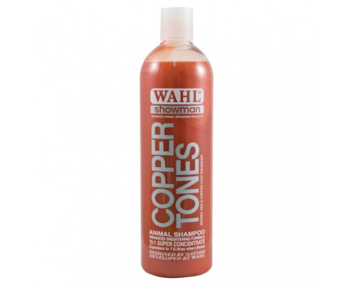 Wahl Copper Tones Dog Shampoo - 500ml 15:1 Super Concentrate