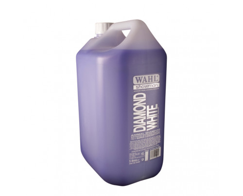 Wahl Diamond White Dog Shampoo - 5ltr 15:1 Super Concentrate