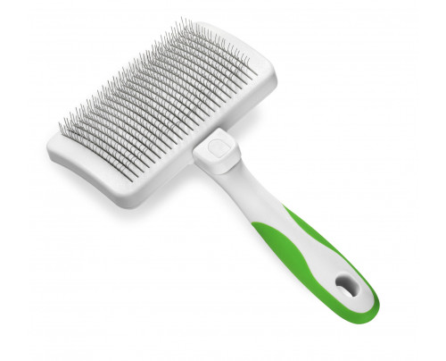 Andis Professional Self Cleaning Slicker Brush Grooming Tool