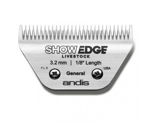 Andis ShowEdge Live Stock General Purpose Wide Blade - Leaves 3.2mm