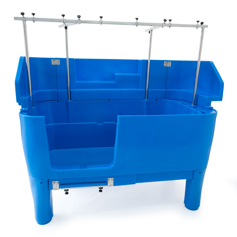 Burtons Splash Back Protection for Easy Groom Tub - Blue Burtons ...