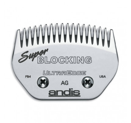 Andis UltraEdge Wide Blade - Super Blocking  Fits AGC/AGR+ & Oster Leaves 19mm or 3/4""