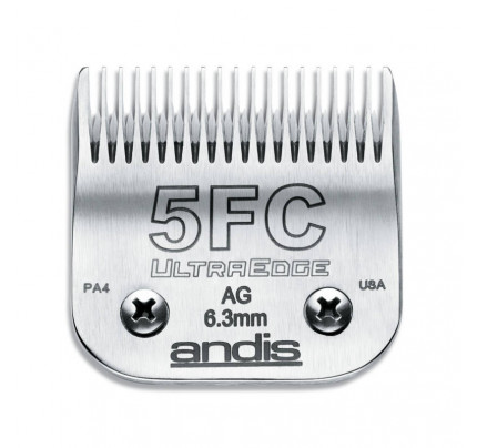 Andis UltraEdge Detachable Blade, Size 5FC - Leaves 6.3mm Fits AGC/AGR+ & Oster