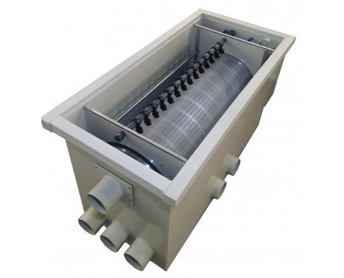 Burtons TF-1000 Pond Drum Through-Flow Filter